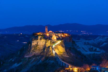 Civita di Bagnoregio (Viterbo, Lazio), central Italy -