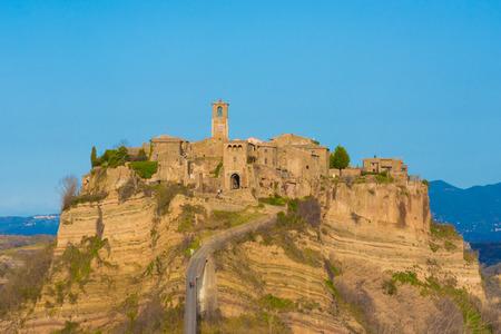 Civita di Bagnoregio (Viterbo, Lazio), central Italy - The town is dying That