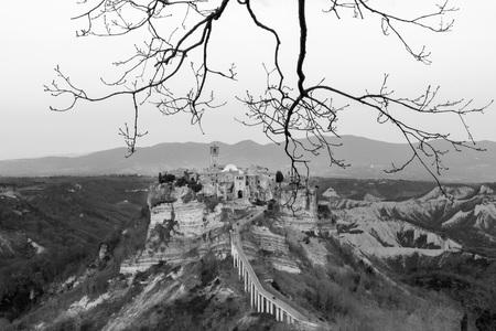 lazio: Civita di Bagnoregio (Viterbo, Lazio), central Italy - The town is dying That