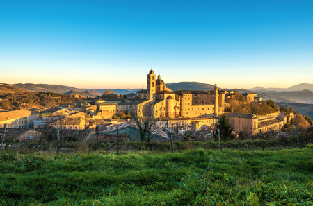 Urbino (Marche, Italy) - A walled city in the Marche region of Italy
