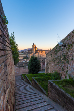 alte: Urbino (Marche, Italy) - A walled city in the Marche region of Italy