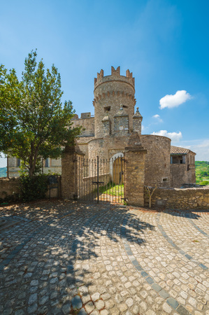 Nazzano (Rome, Italy) - A small village in the province of Rome, along the Tiber River, with an old historic center and a charming medieval castle abandoned.