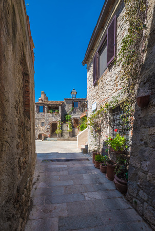 Capalbio, Italy - The historic center of the medieval town of Tuscany, very famous in the Renaissance period, for this reason called the little Athens Imagens