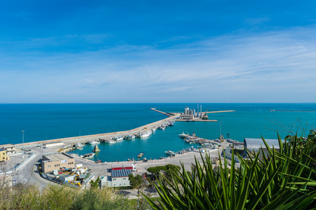 Ortona (Abruzzo, Italy) - The city on the Adriatic Sea, with great port, medieval castle and panoramic historic center.