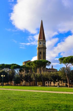 Arezzo, Italy - 1 January 2015 - Visit to Arezzo, the wonderful Etruscan and Renaissance city of Tuscany region.