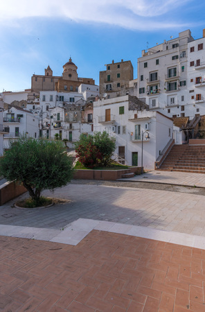 Pisticci (Matera, Italy) - A white town on the badlands hills, in the province of Matera, Basilicata region, southern Italy
