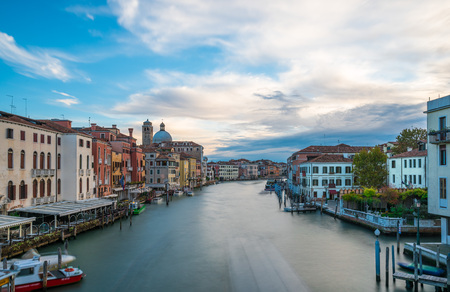 Venice (Italy) - The city on the sea. A photographic tour to discover the most characteristic places of the famous seaside city, a major tourist attractions in the world. Stock Photo