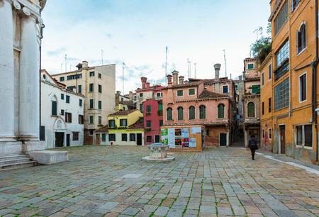 Venezia, Italia - 21 ottobre 2016 - La città sul mare. Qui i luoghi più caratteristici della famosa città balneare, le principali attrazioni turistiche del mondo.