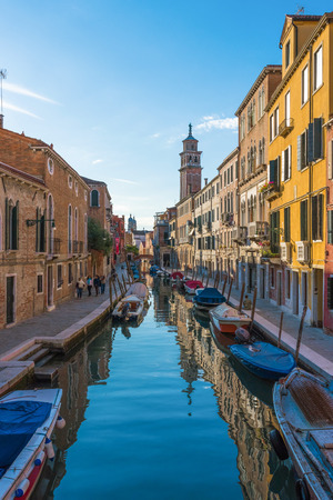characteristic: Venice, Italy - 21 October 2016 - The city on the sea. Here the most characteristic places of the famous seaside city, a major tourist attractions in the world. Editorial