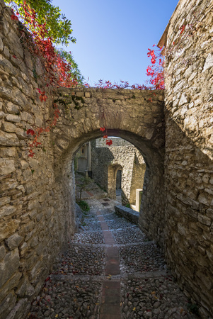 Labro (Italy) - In province of Rieti, Labro is a very nice little medieval stone town over the Piediluco lake, in Lazio region, the border with Umbria region