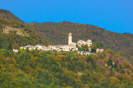 Greccio (Rieti, Italy) - A medieval town in Lazio region, famous for the catholic sanctuary of Saint Francis