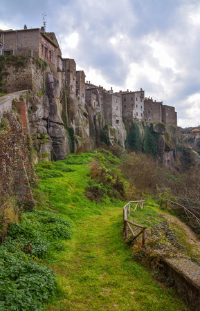 Vitorchiano (Tuscia, Italy) - The beautiful medieval town in tuff, province of Viterbo, central Italy, Lazio region