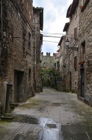 Vitorchiano (Tuscia, Italy) - The beautiful medieval town in tuff, province of Viterbo, central Italy, Lazio region