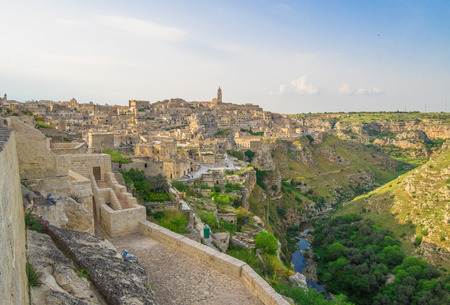 Matera (Basilicata) - The historic center of the wonderful stone city of southern Italy, a tourist attraction for the famous