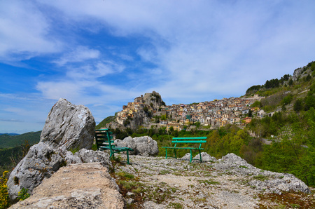 Cervara di Roma (Rome, Italy) - A little suggestive town on the rock, in the Simbruini mountains, province of Rome