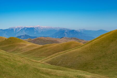 Appennini mountains, Italy - The mountain summit of central Italy, Abruzzo region, above 2500 meters Imagens - 127016875