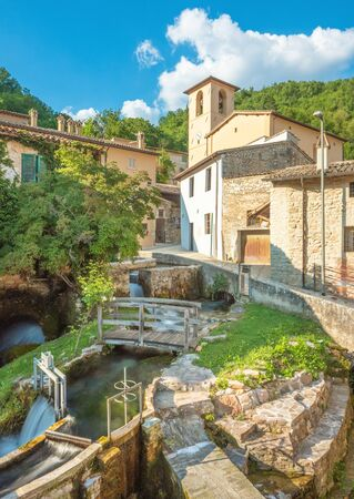 Rasiglia (Italy) - A very little stone town in the heart of Umbria region, named Village of streams or little Venice for the torrent and waterfalls that cross the historical center.