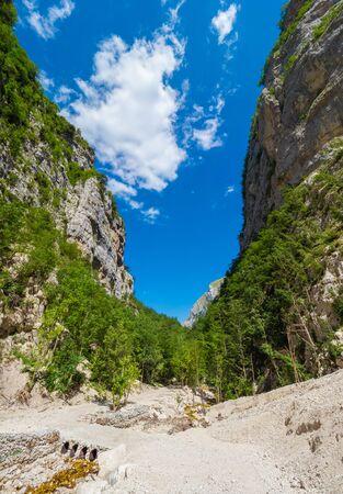 Gole dell'Infernaccio (Italy) - A naturalistic wild attraction in the Monti Sibillini National Park, Marche region, province of Fermo