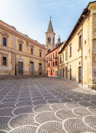 Sulmona (Abruzzo, Italy) - An artistic city in province of L'Aquila, in the heart of Abruzzo region, Majella National Park, famous for the production of comfits. Here the historical center.