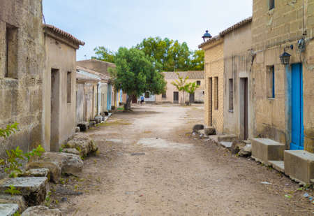 San Salvatore di Sinis (Sardegna, Italy) - Small medieval village, part of the municipality of Cabras, famous for the Corsa degli Scalzi tradition and for being location set of many western films.