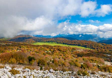 Mount Zappi in Lazio region (Italy) - Also know as Gennaro, peak in the Lucretili mountains