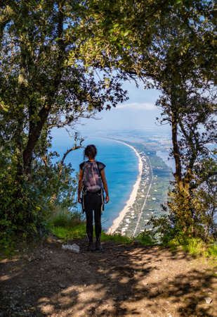 Mount Circeo (Latina, Italy) - The famous mountain on the Tirreno sea, in the province of Latina, very popular with hikers for its beautiful landscapes.