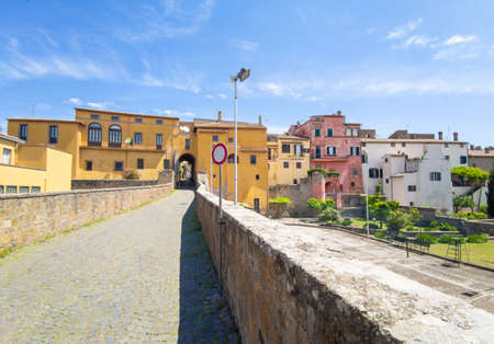 Tuscania (Italy) - A view of etruscan and medieval town in province of Viterbo, Tuscia, Lazio region