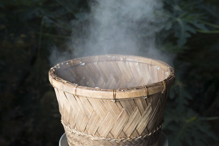 method: rice steamed,old method