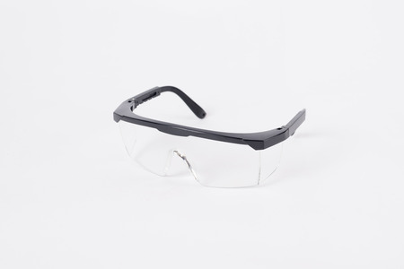 protective eyewear: protective eyewaer Stock Photo
