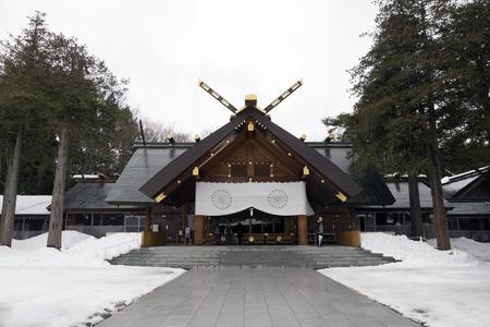 shrine of hokkaido,japan