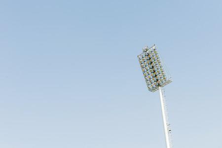 brightness: stadium lights Stock Photo