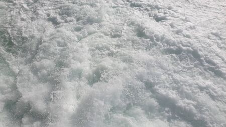 Clear water splash breaking waves motion