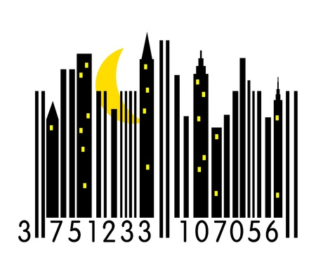 urban barcode  Stock Vector - 10518689