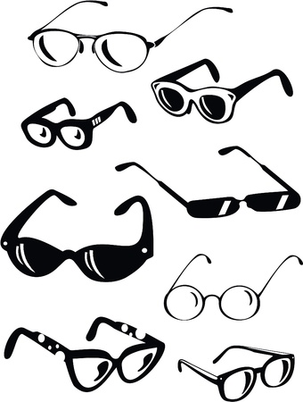 sun glasses: Collection of Glasses