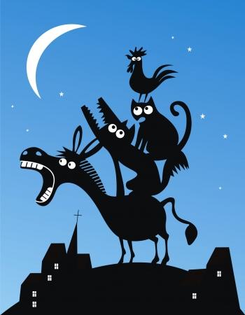donkey tail: M�sicos de la ciudad de Bremen
