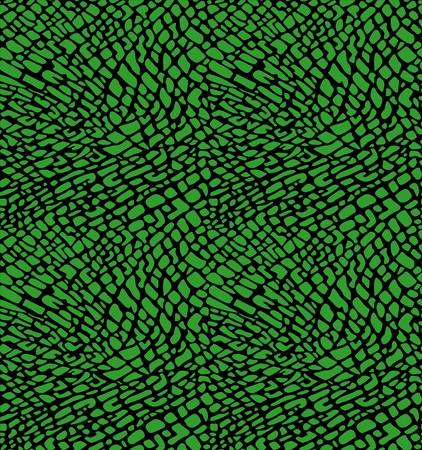Crocodile skin texture-seamless pattern Vector