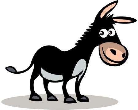 Happy donkey Фото со стока - 13826923