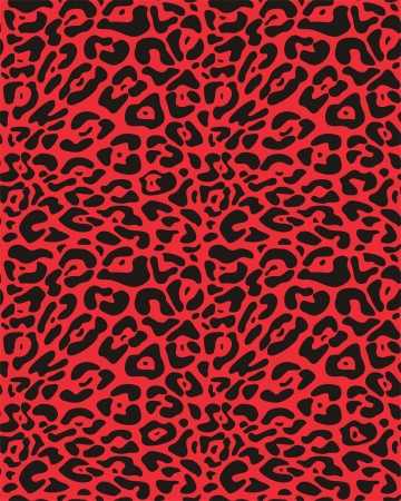 Seamless  leopard fur Vector