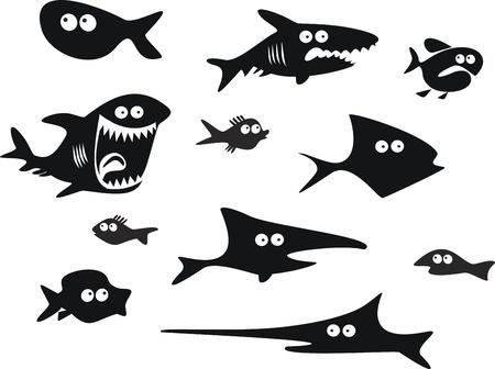 재미 물고기의 설정