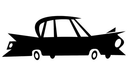 sleek:  Old car