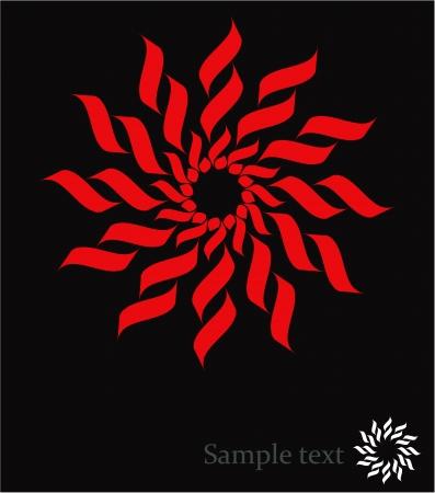 Sun - abstract design element Stock Vector - 17971690