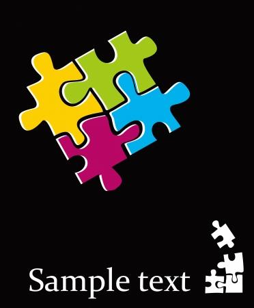 퍼즐 - 추상 디자인 요소