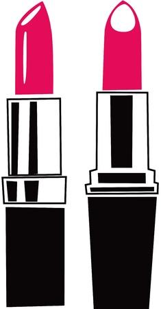 lip gloss:  Lipstick