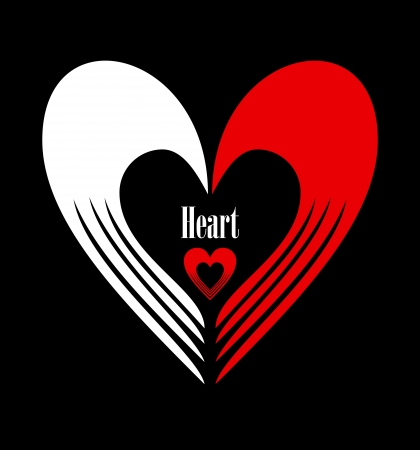 Heart - Abstract design element Vector