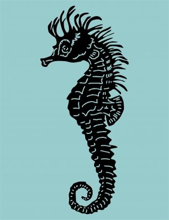Seahorse Stock Vector - 18425954