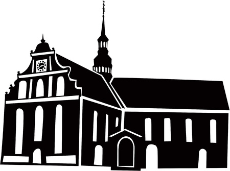 clergy: Iglesia N�rdica Vectores