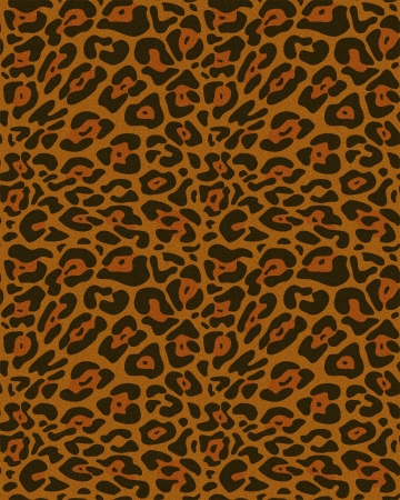 Seamless leopard fur pattern  photo