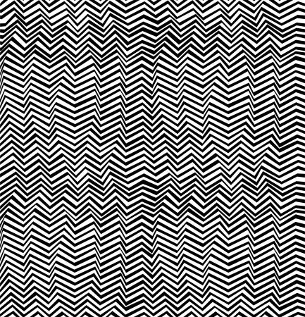 Naadloze abstracte zwart-wit patroon