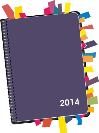 Personal Organizer 2014 Vector