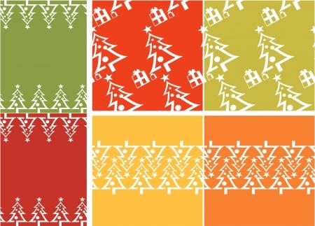 Christmas tree patroon set